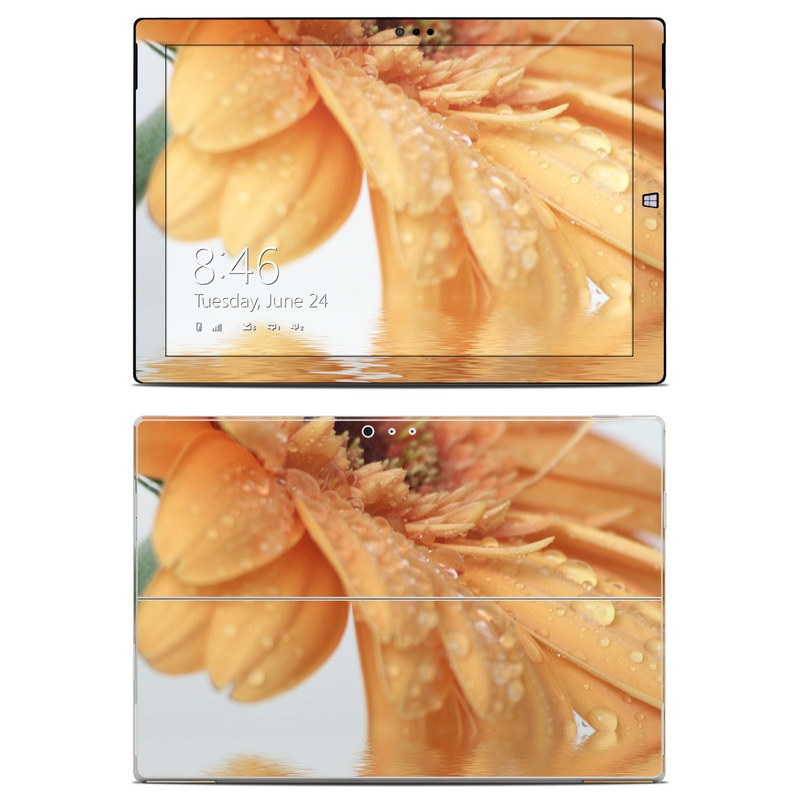 Golden Gerbera Microsoft Surface Pro 3 Skin