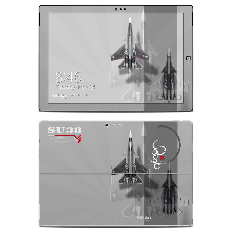 Jet Fighter Microsoft Surface Pro 3 Skin