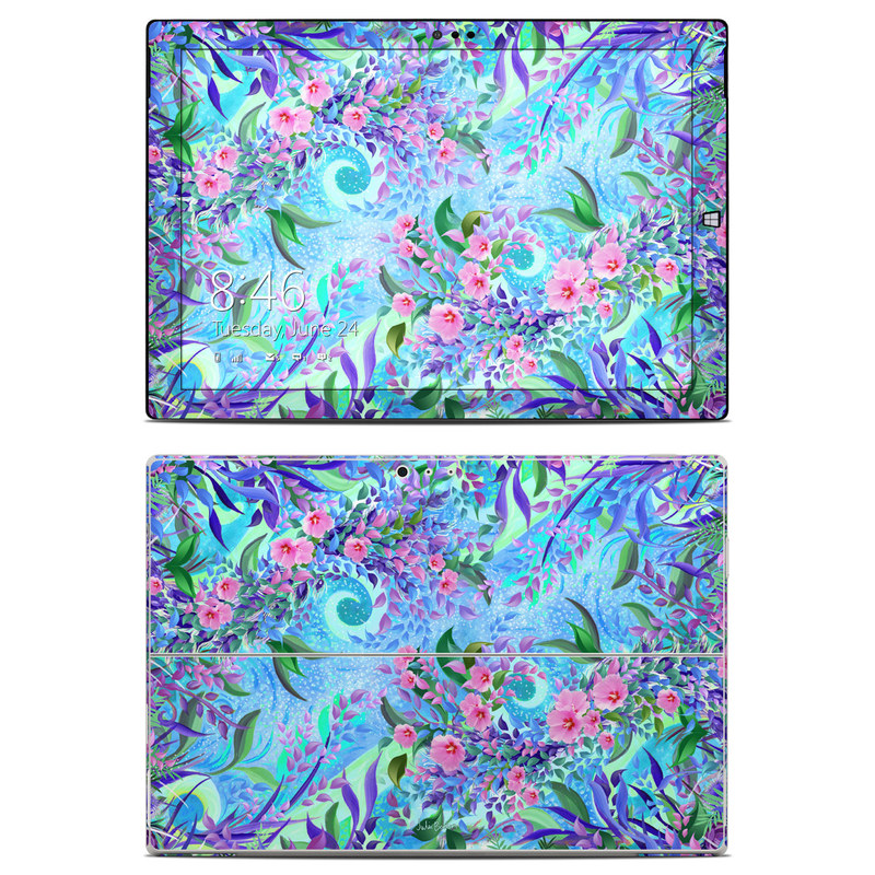 Lavender Flowers Microsoft Surface Pro 3 Skin