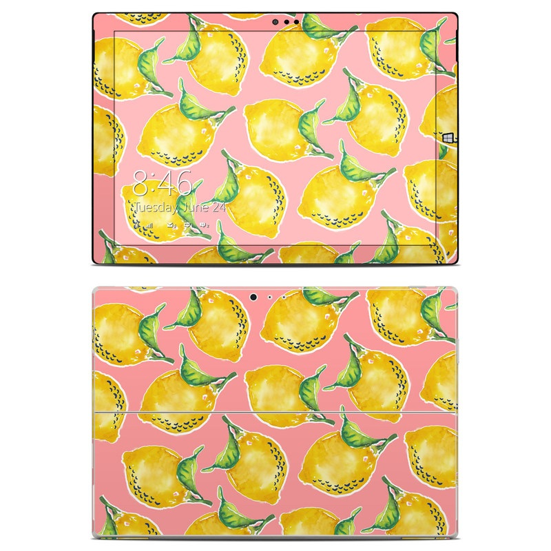 Lemon Microsoft Surface Pro 3 Skin