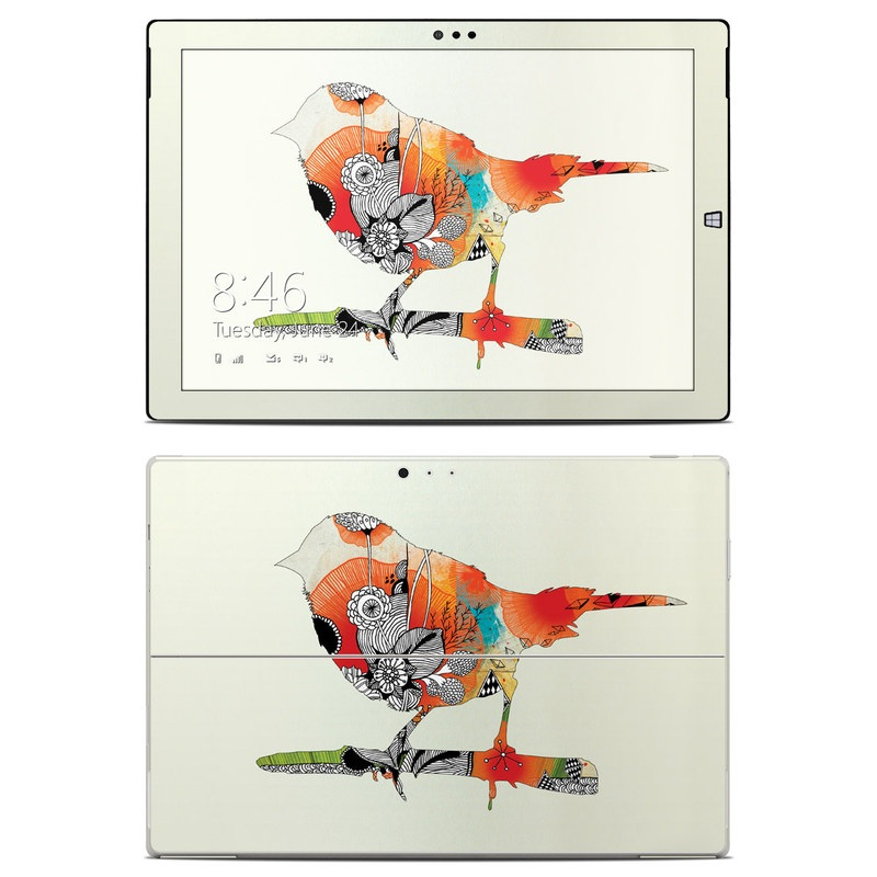 Little Bird Microsoft Surface Pro 3 Skin