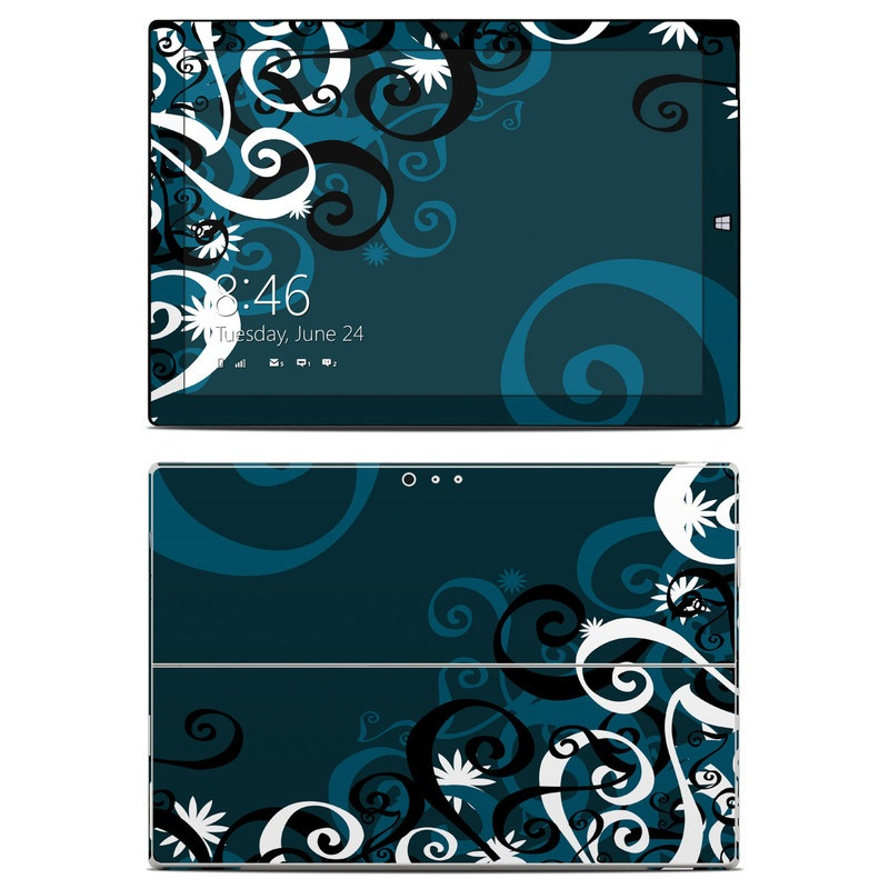 Midnight Garden Microsoft Surface Pro 3 Skin