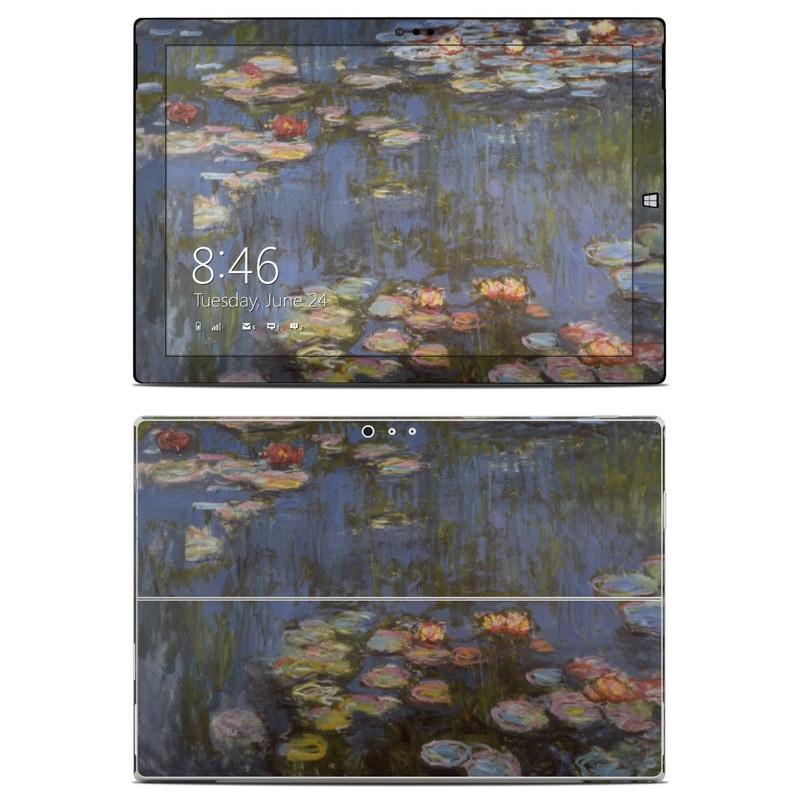 Water lilies Microsoft Surface Pro 3 Skin