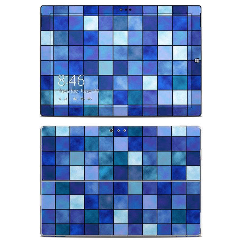Blue Mosaic Microsoft Surface Pro 3 Skin