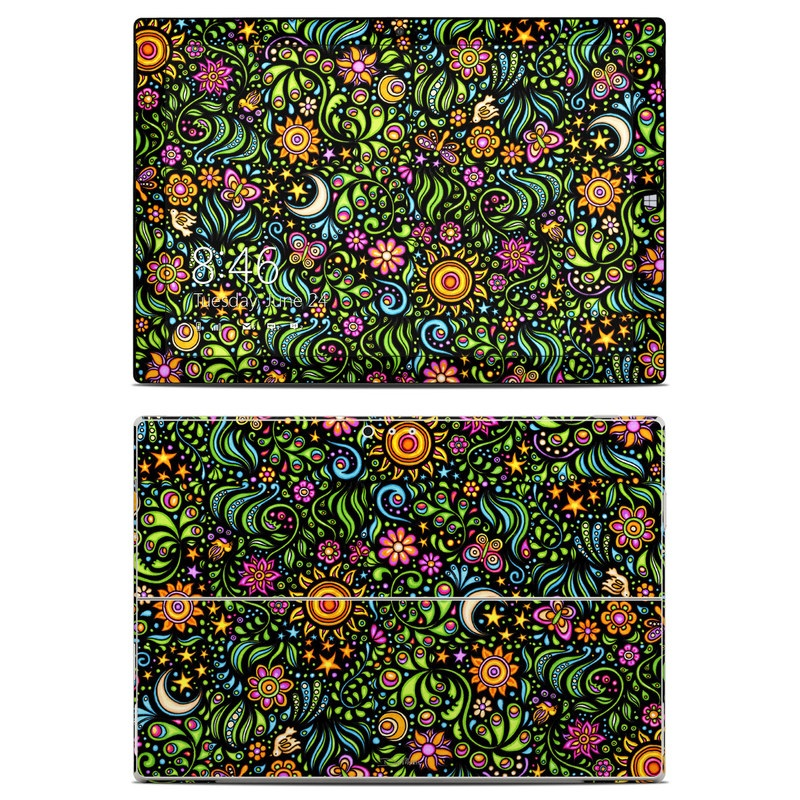 Nature Ditzy Microsoft Surface Pro 3 Skin
