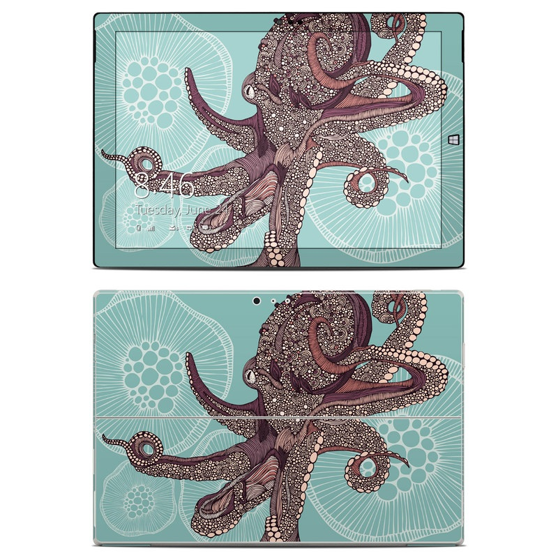 Octopus Bloom Microsoft Surface Pro 3 Skin