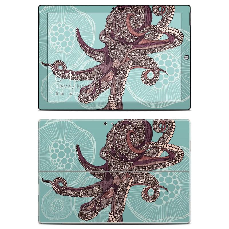 Octopus Bloom Microsoft Surface Pro 3 Skin