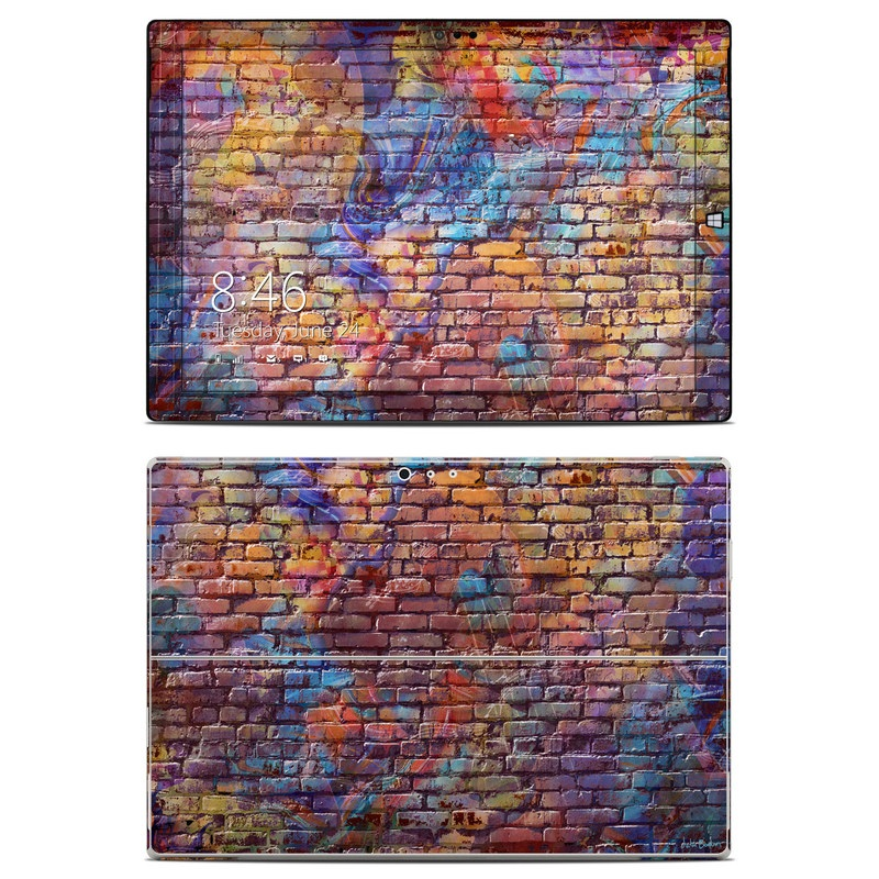 Painted Brick Microsoft Surface Pro 3 Skin