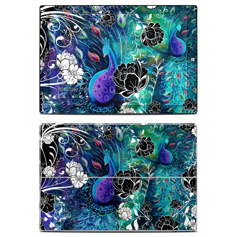 Peacock Garden Microsoft Surface Pro 3 Skin