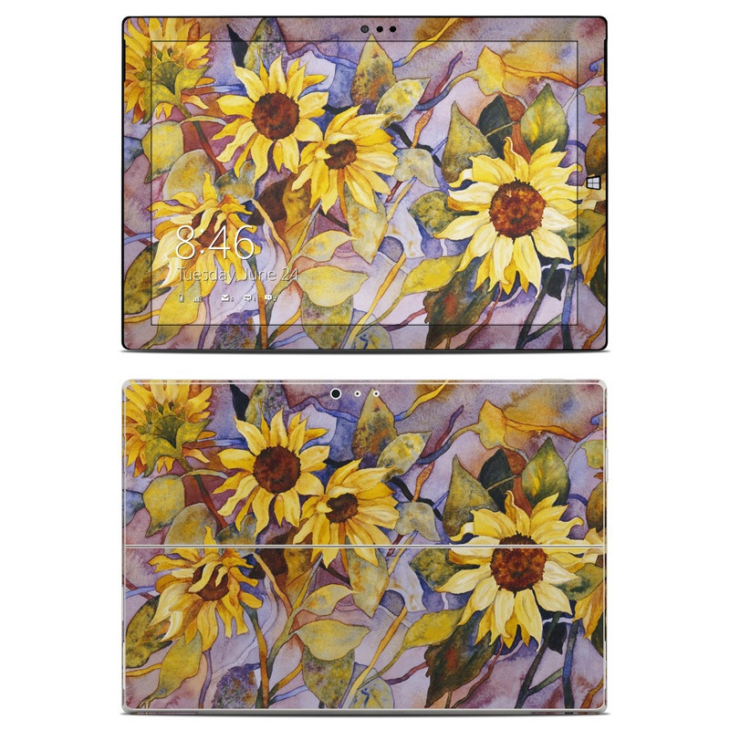 Sunflower Microsoft Surface Pro 3 Skin