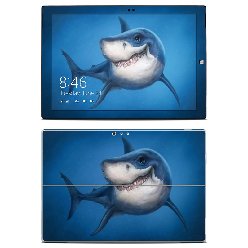 Shark Totem Microsoft Surface Pro 3 Skin