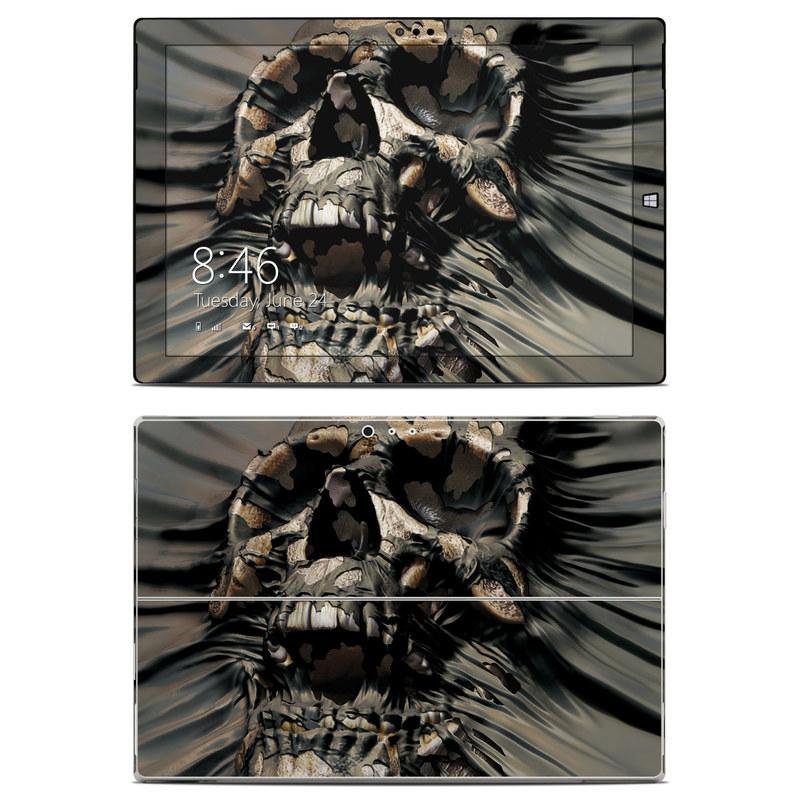 Skull Wrap Microsoft Surface Pro 3 Skin