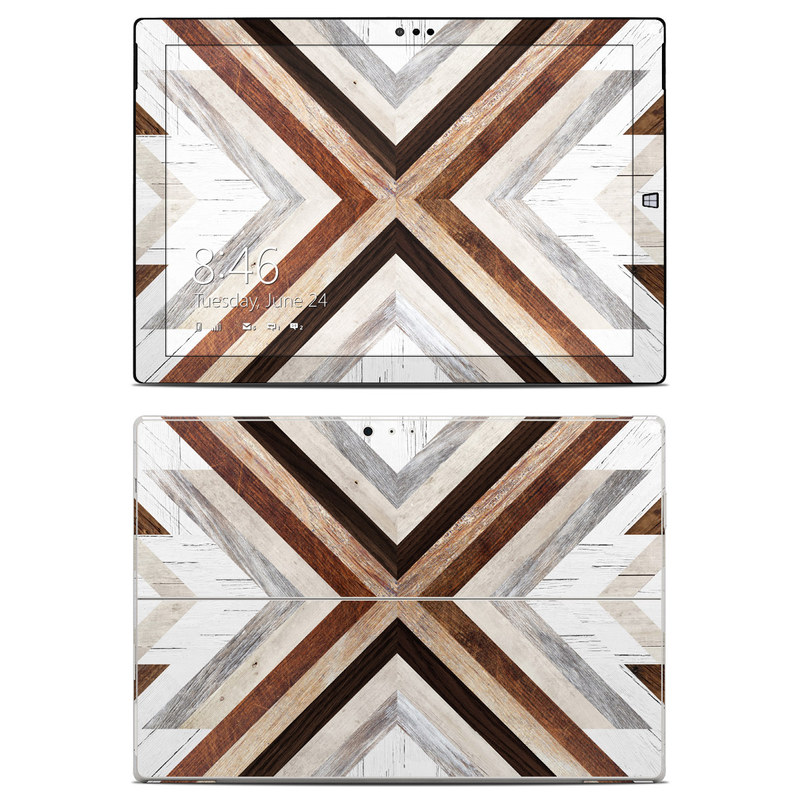 Timber Microsoft Surface Pro 3 Skin