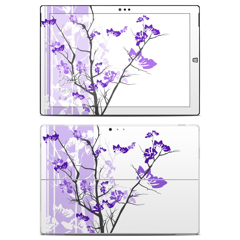 Violet Tranquility Microsoft Surface Pro 3 Skin