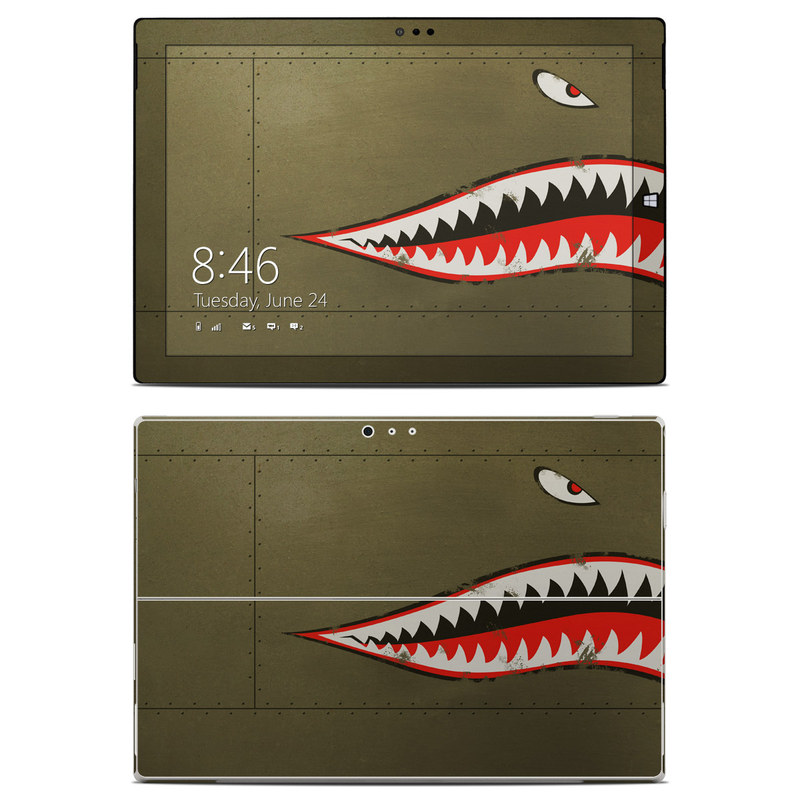 USAF Shark Microsoft Surface Pro 3 Skin