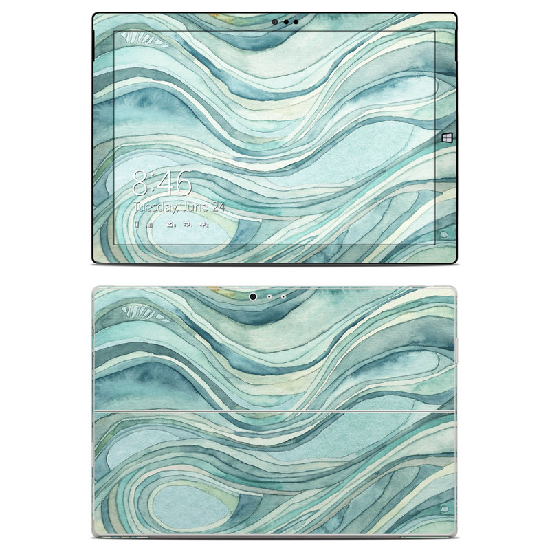 Waves Microsoft Surface Pro 3 Skin