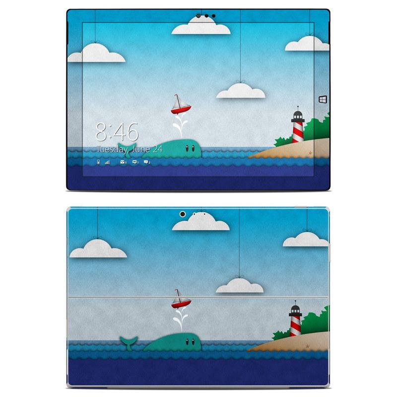 Whale Sail Microsoft Surface Pro 3 Skin