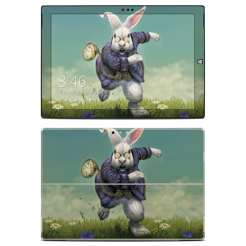White Rabbit Microsoft Surface Pro 3 Skin