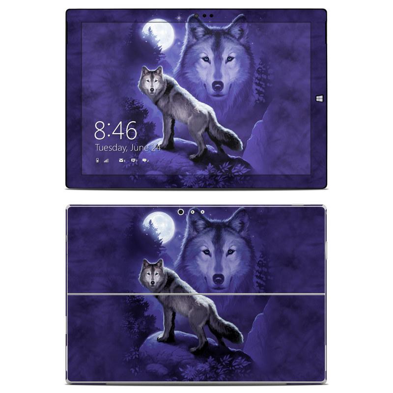 Wolf Microsoft Surface Pro 3 Skin