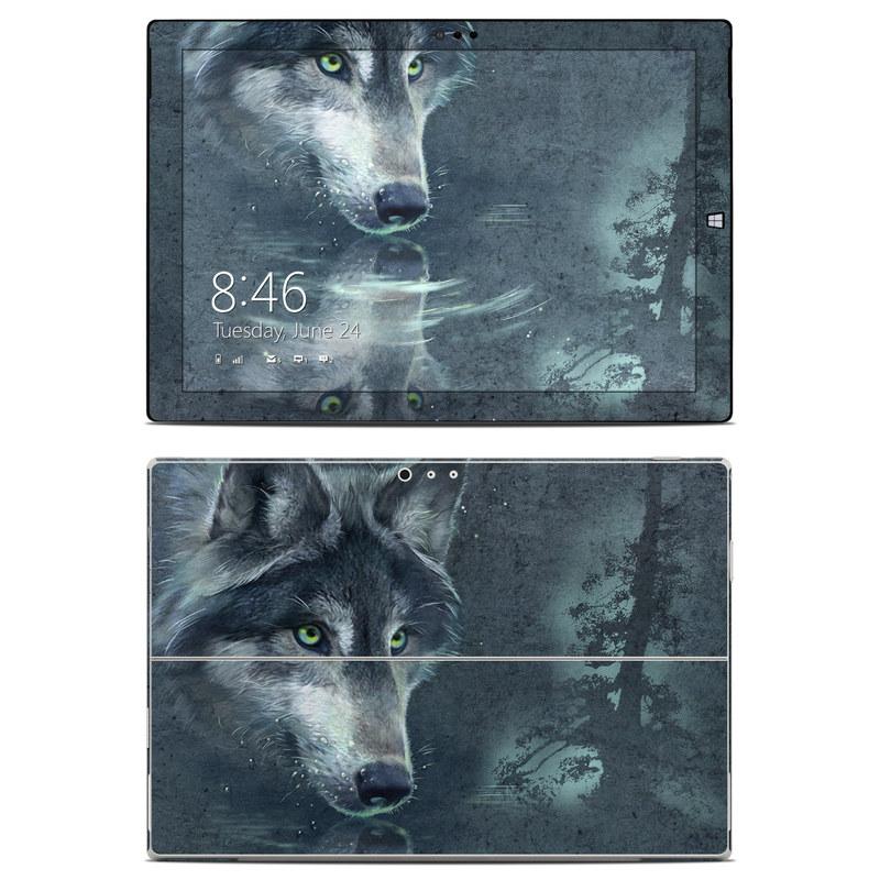 Wolf Reflection Microsoft Surface Pro 3 Skin
