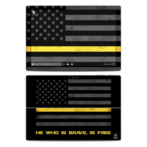 Brave is Free Microsoft Surface Pro 4 Skin