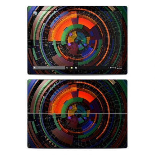 Color Wheel Microsoft Surface Pro 4 Skin