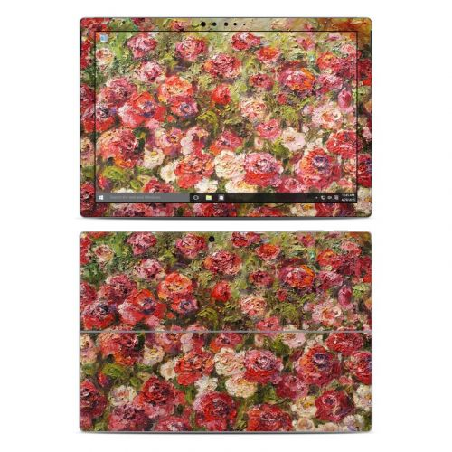 Fleurs Sauvages Microsoft Surface Pro 4 Skin