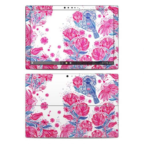 Freedom Flowers Microsoft Surface Pro 5, Pro 4 Skin