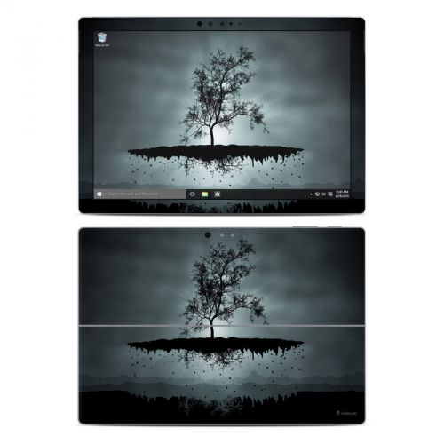 Flying Tree Black Microsoft Surface Pro 4 Skin