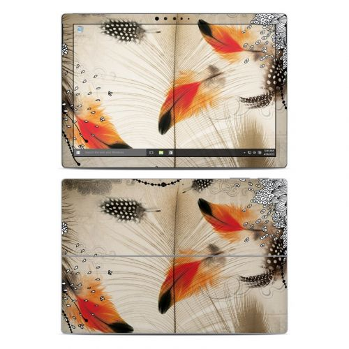 Feather Dance Microsoft Surface Pro 5, Pro 4 Skin