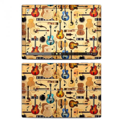Guitar Collage Microsoft Surface Pro 4 Skin