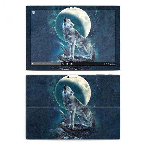 Howling Moon Soloist Microsoft Surface Pro 4 Skin