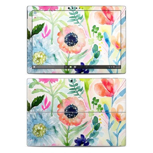 Loose Flowers Microsoft Surface Pro 5, Pro 4 Skin
