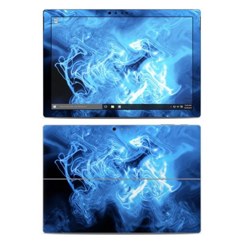 Blue Quantum Waves Microsoft Surface Pro 4 Skin