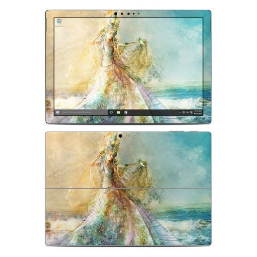 The Shell Maiden Microsoft Surface Pro 4 Skin