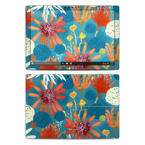 Sunbaked Blooms Microsoft Surface Pro 4 Skin