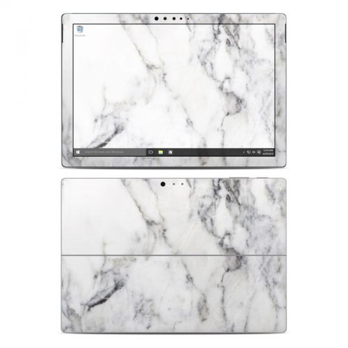 White Marble Microsoft Surface Pro 4 Skin