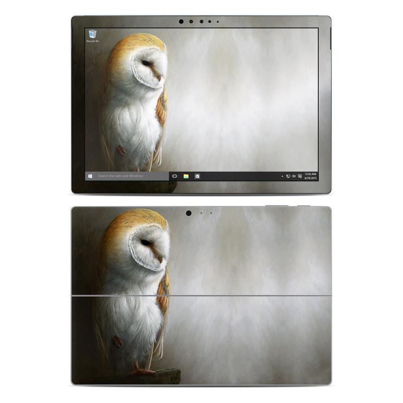 Barn Owl Microsoft Surface Pro 5, Pro 4 Skin