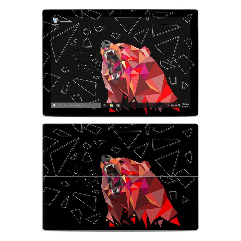 Bears Hate Math Microsoft Surface Pro 4 Skin
