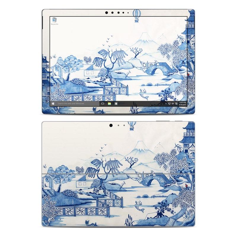 Blue Willow Microsoft Surface Pro 4 Skin