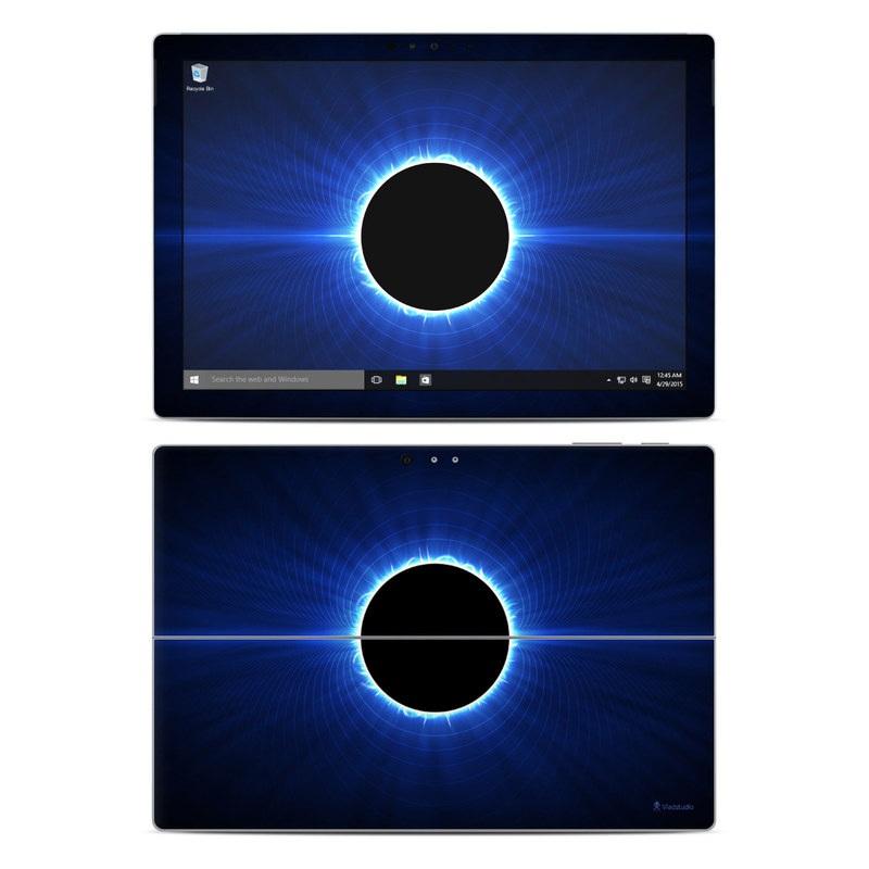 Blue Star Eclipse Microsoft Surface Pro 4 Skin