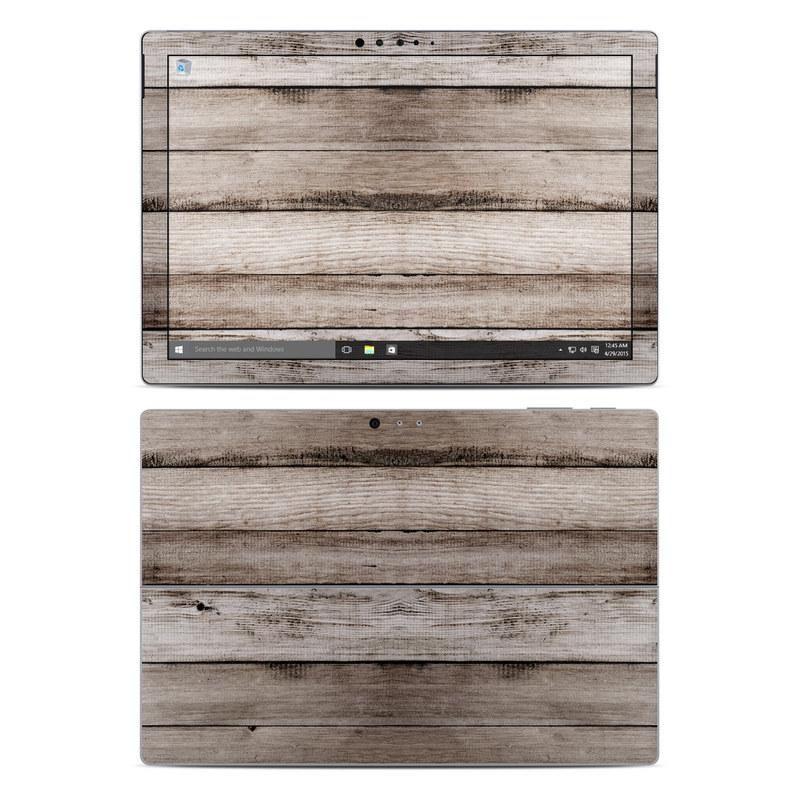 Barn Wood Microsoft Surface Pro 4 Skin