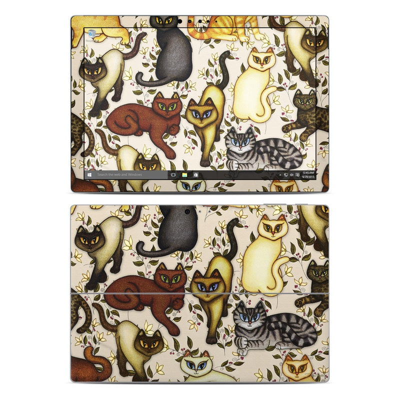 Cats Microsoft Surface Pro 4 Skin
