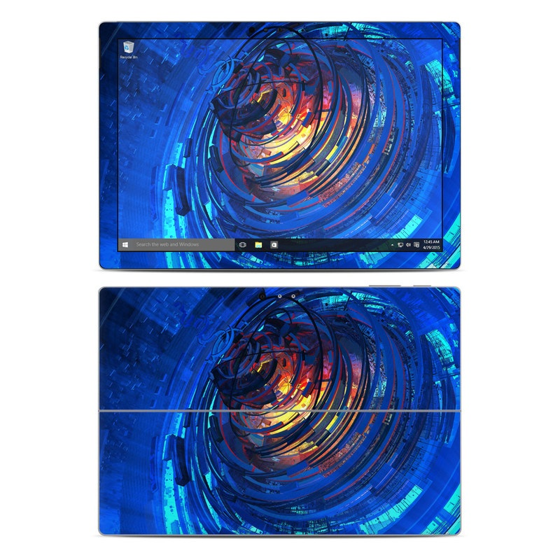 Clockwork Microsoft Surface Pro 4 Skin