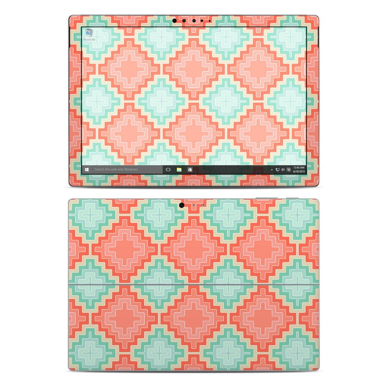 Coral Diamond Microsoft Surface Pro 4 Skin