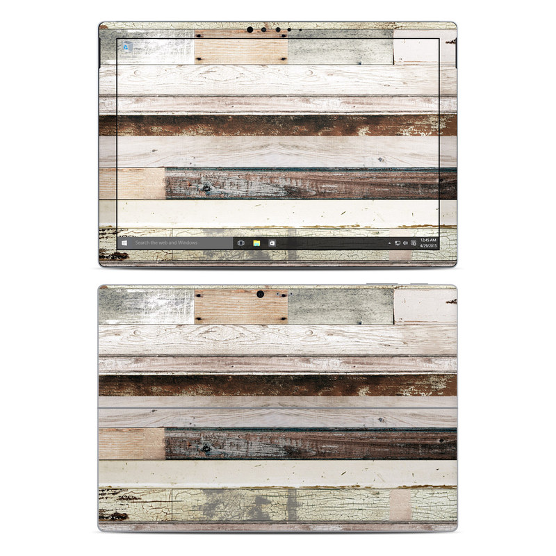 Eclectic Wood Microsoft Surface Pro 5, Pro 4 Skin