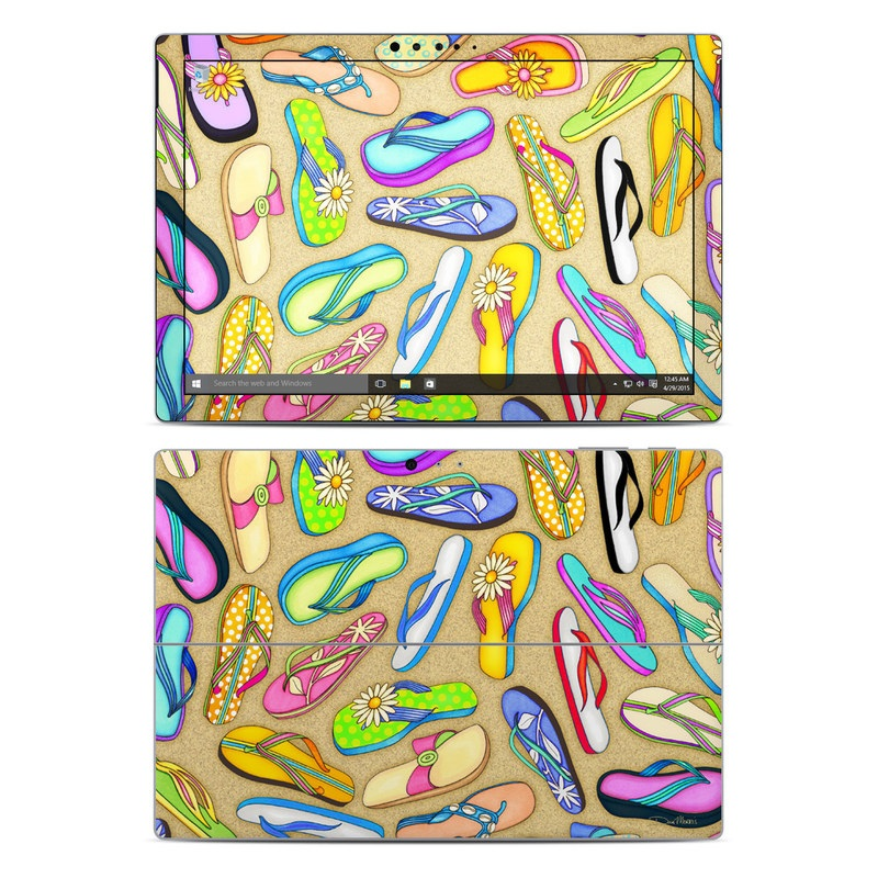 Flip Flops Microsoft Surface Pro 4 Skin