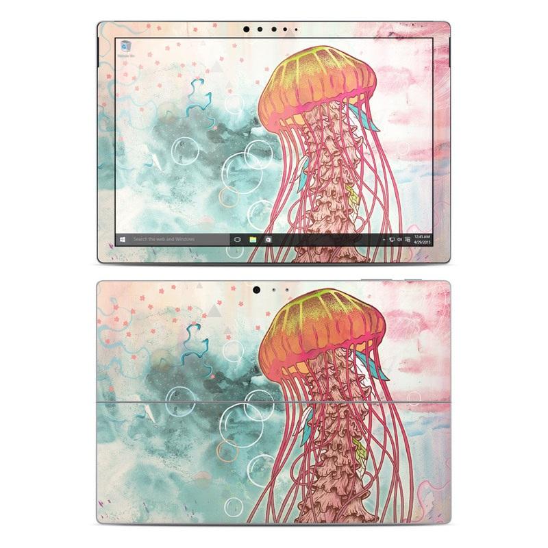 Jellyfish Microsoft Surface Pro 4 Skin