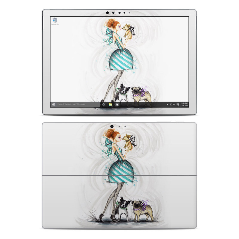 A Kiss for Dot Microsoft Surface Pro 4 Skin