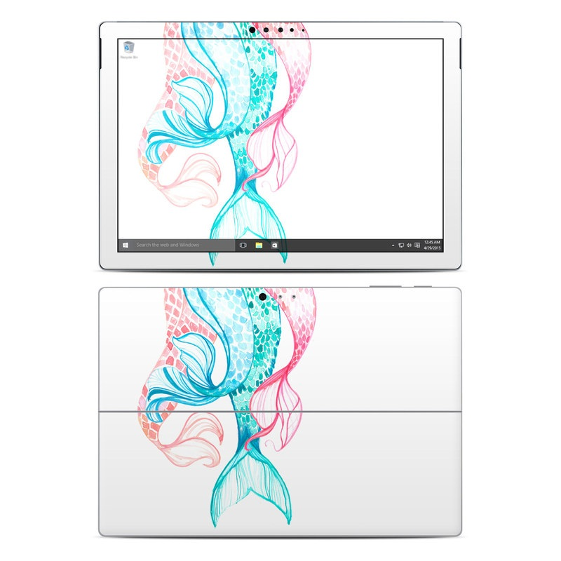 Mermaid Tails Microsoft Surface Pro 4 Skin